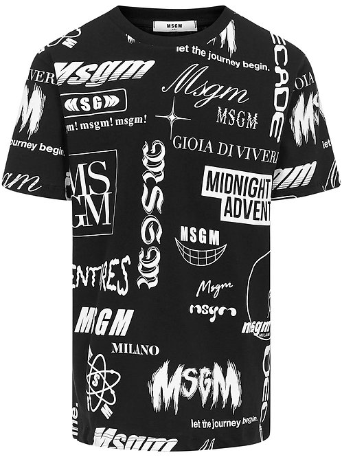 T-shirt Jersey Msgm Boy