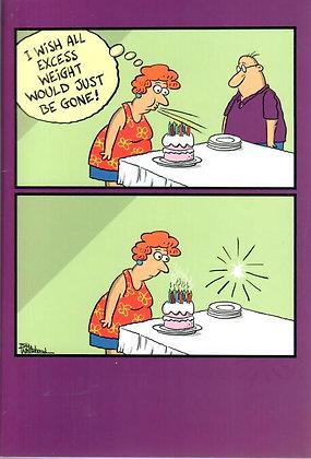 Birthday - Excess weight