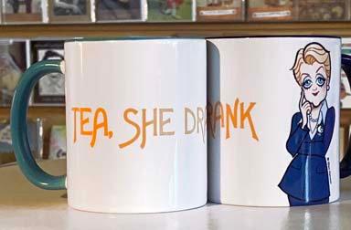 GH Mug - Tea, She Drank