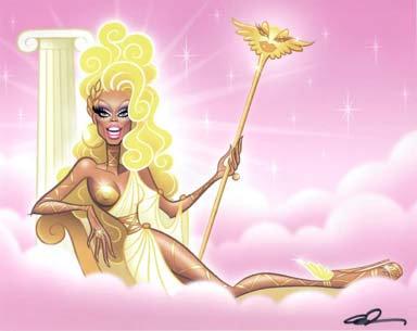 GH Print - RuPaul Goddess