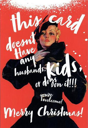 Christmas - No Husband, kids