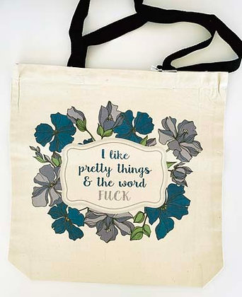 Canvas tote - Pretty things