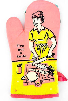 Oven Mitt - Knife