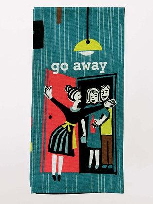 Dish Towel - Go Away