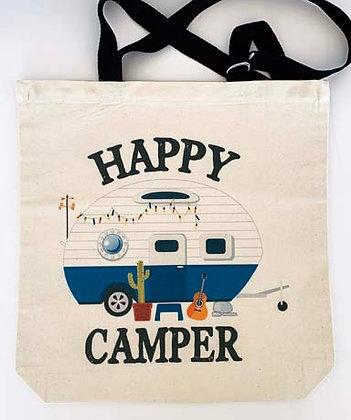 Canvas tote - Happy Camper