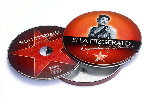 Music - Ella Fitzgerald - Legends of Music