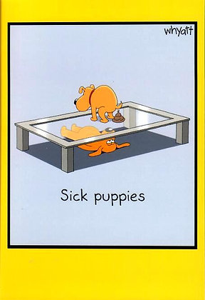 Birthday - Sick puppies