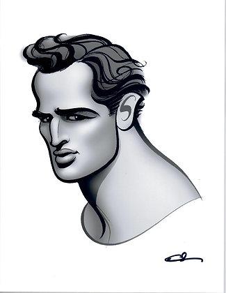 GH Print - Brando White