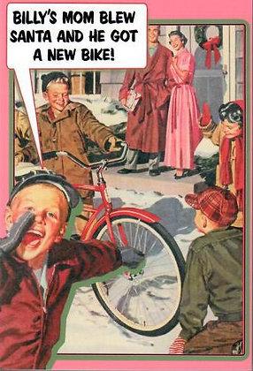 Christmas - Billy's Bike