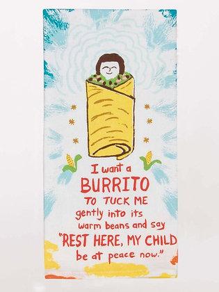Dish Towel - Burrito