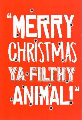 Christmas - Filthy Animal