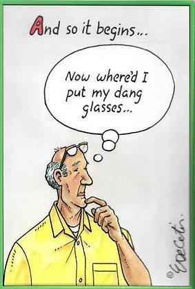 Birthday - Dang glasses
