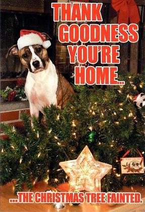 Christmas - Tree Fainted (Dog)