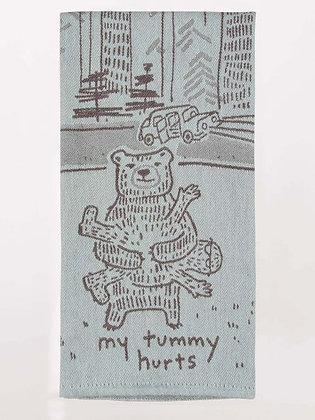 Dish Towel - Tummy Hurts