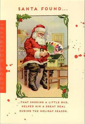 Christmas - Santa's Bud