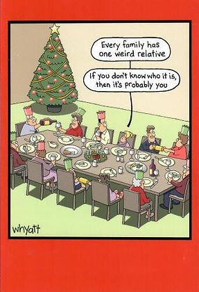 Christmas - One Weird Relative