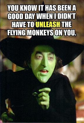 Birthday - Flying monkeys