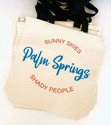 Canvas tote - Sunny skies