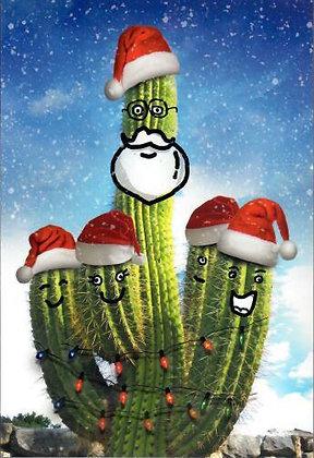 Christmas - Cactus Santa