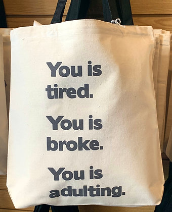 Canvas bag - Adulting