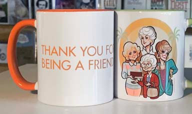 Coffee Mug - TY for Being a Friend