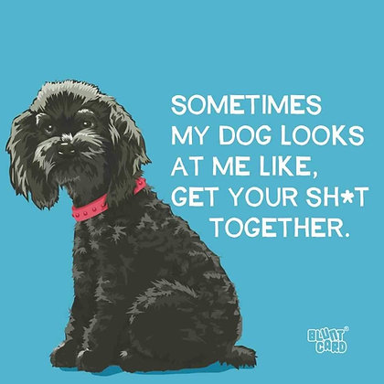 Napkins - Sometimes my dog