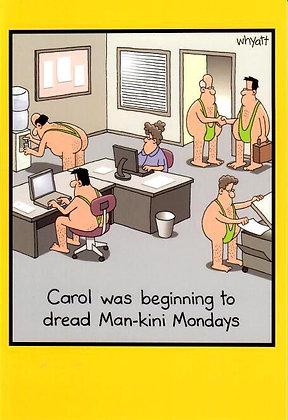 Birthday - Mankini Mondays