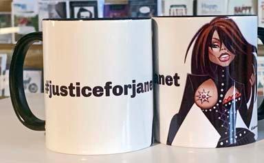 GH Mug - #justiceforjanet