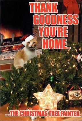 Christmas - Tree Fainted (Cat)