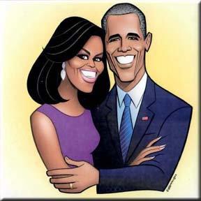 GH Coaster - Obamas