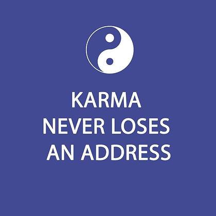 Napkins - Karma never loses