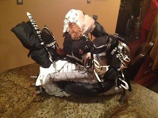 Boys Harley Davidson Diaper motorcycle