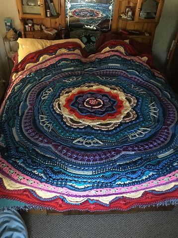 Mandala Madness Blanket