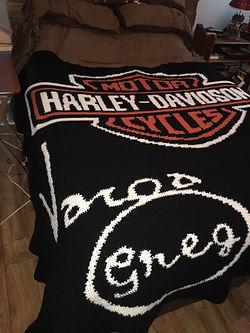 HD logo blanket Customized