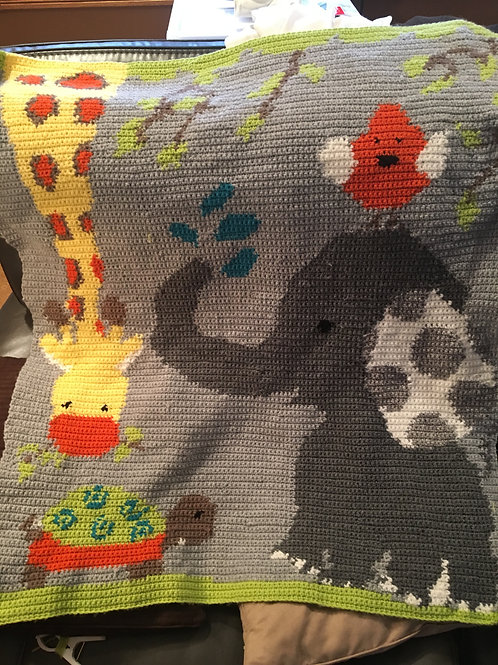 Elephant/Giraffee water play