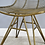 Thumbnail: Gold Finish Industrial Chair