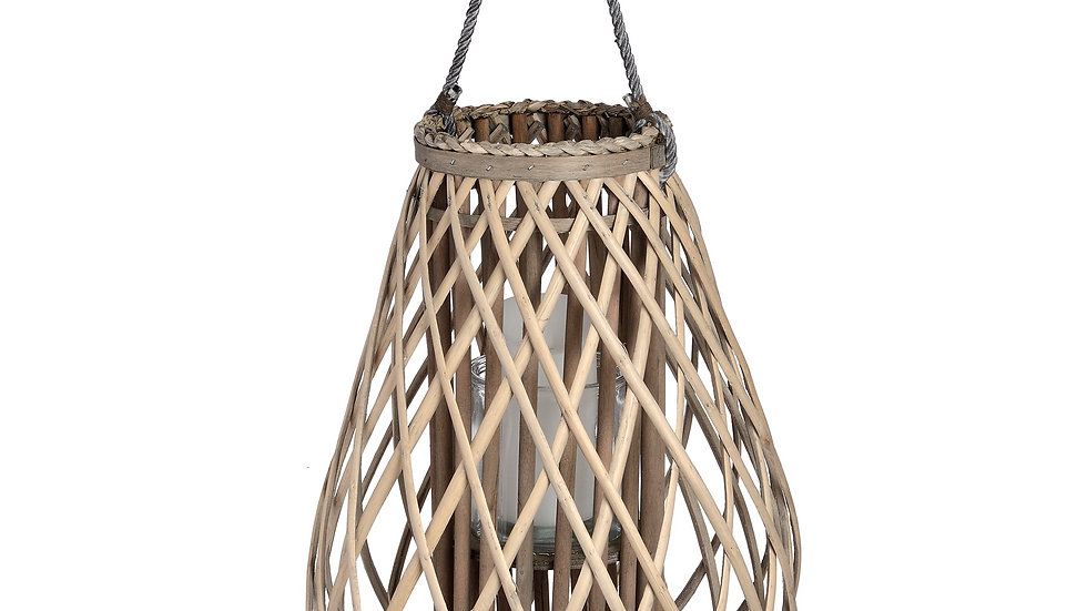 Large Wicker Lantern