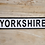 Thumbnail: YORKSHIRE SIGN IRON 6565