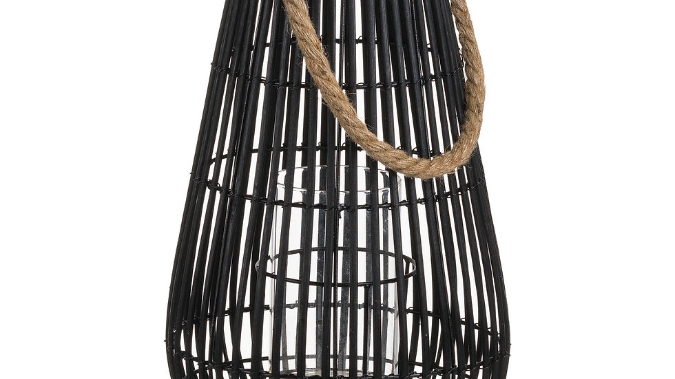 Wicker Dome Lantern