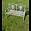 Thumbnail: Vintage Grey Bench