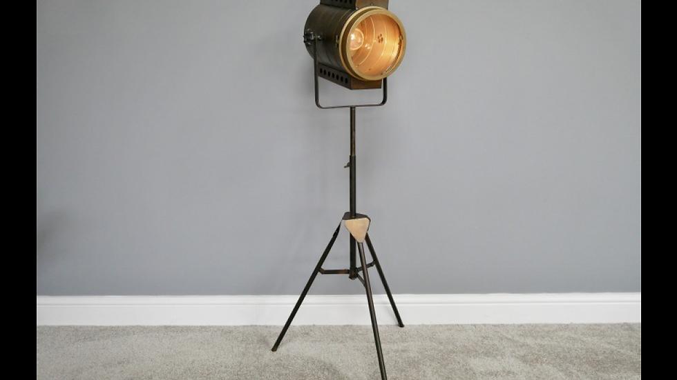 Industrial battery floor lamp
