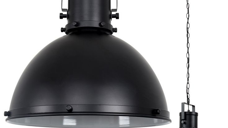 Dome Light in Black industrial style