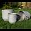 Thumbnail: Set of Metal Planters