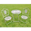 Thumbnail: Vintage Grey table set 5198