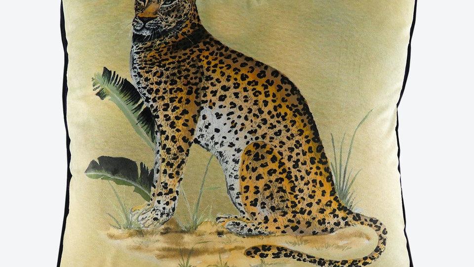 Kibale Leopard 50cm Cushion