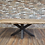 Thumbnail: Living Edge Hardwood and Iron leg Table