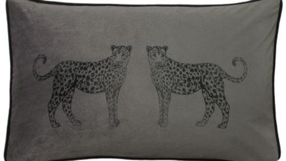Savannah Leopard Cushion
