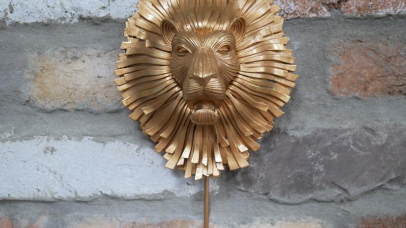 Large Lion Head Hook