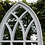 Thumbnail: Garden Mirror Classic Design in Wood