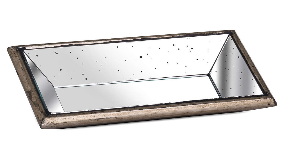 Mirrored  Cocktail Display Tray